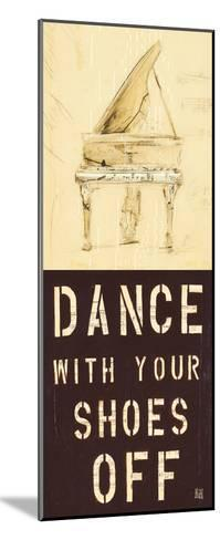 Dance With Your Shoes Off-Kelsey Hochstatter-Mounted Art Print