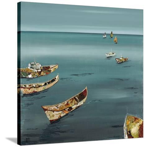 Open Sea-Kelsey Hochstatter-Stretched Canvas Print