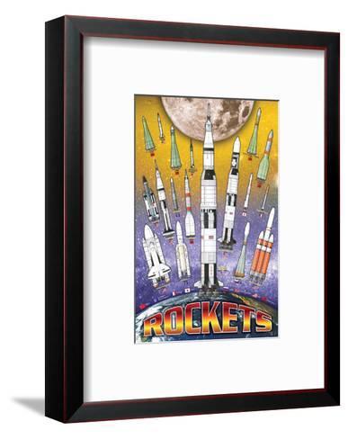 Rockets for Kids--Framed Art Print