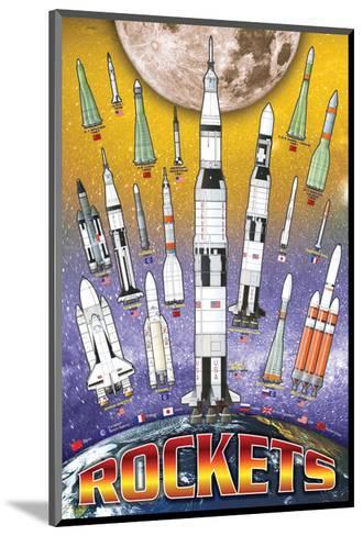 Rockets for Kids--Mounted Art Print