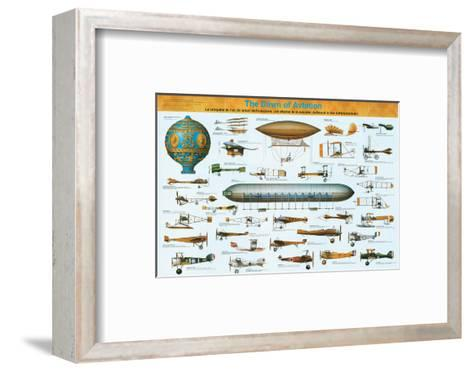 The Dawn of Aviation--Framed Art Print