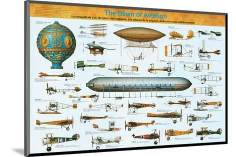 The Dawn of Aviation--Mounted Art Print
