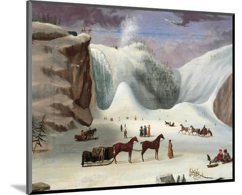 Ice Cone, Montmorency Falls-Robert Clow Todd-Mounted Art Print