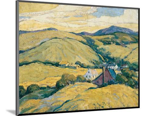 In the Laurentians-H. Mabel May-Mounted Art Print