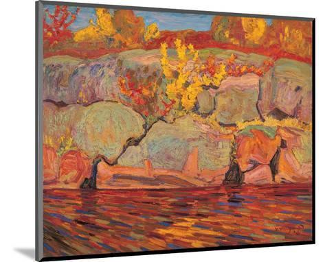 Autumn Colours--Mounted Art Print
