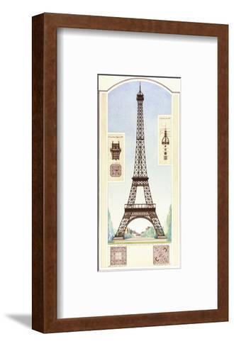 Eiffel Tower, Paris-Libero Patrignani-Framed Art Print