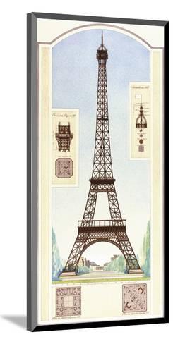 Eiffel Tower, Paris-Libero Patrignani-Mounted Art Print