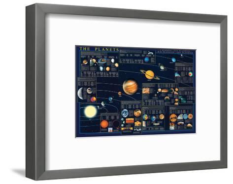 Planets-Libero Patrignani-Framed Art Print