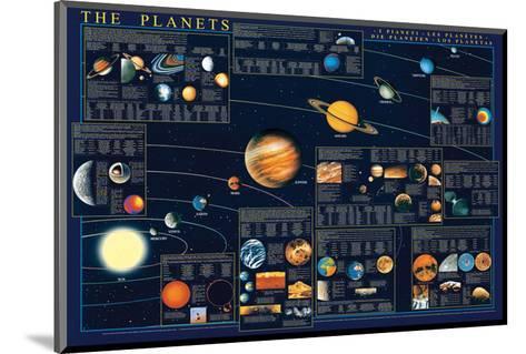 Planets-Libero Patrignani-Mounted Art Print