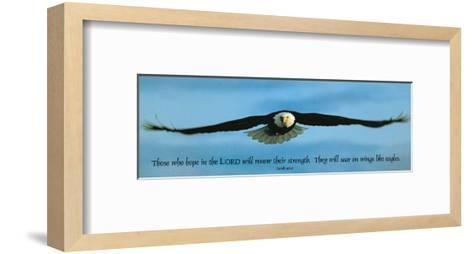 Inspirational - Eagle--Framed Art Print