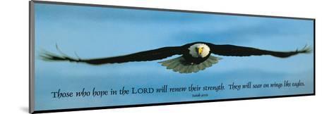 Inspirational - Eagle--Mounted Art Print