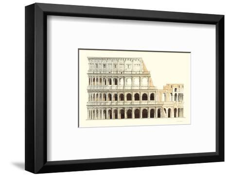 Roma, Il Colosseo-Libero Patrignani-Framed Art Print