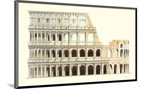 Roma, Il Colosseo-Libero Patrignani-Mounted Art Print