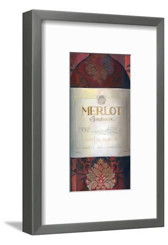 Merlot Red Wine-Louise Montillio-Framed Art Print
