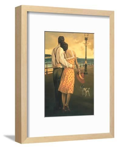 View of the Bay-Graham Reynold-Framed Art Print