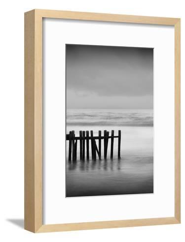 Old Pier I-Shane Settle-Framed Art Print