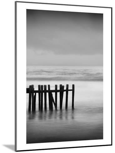 Old Pier I-Shane Settle-Mounted Art Print