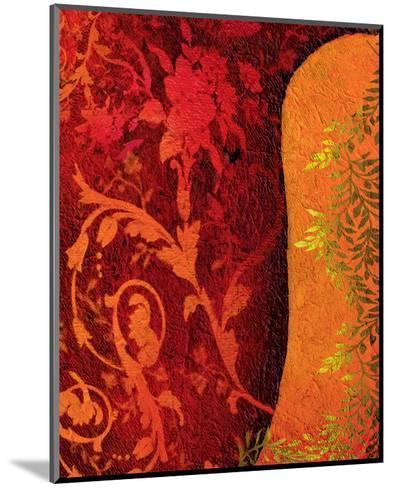 Georgia Cochineal II-Michael Timmons-Mounted Art Print