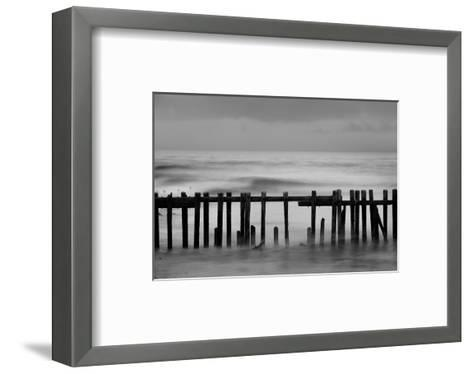 Old Pier II-Shane Settle-Framed Art Print
