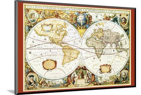 Map of the World III--Mounted Art Print