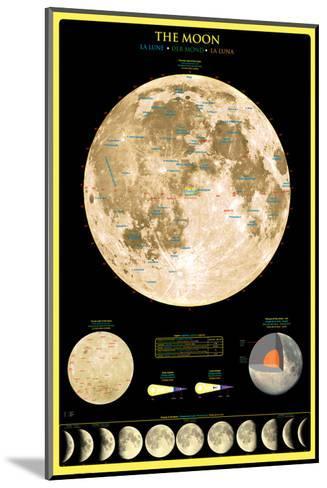 Moon--Mounted Art Print