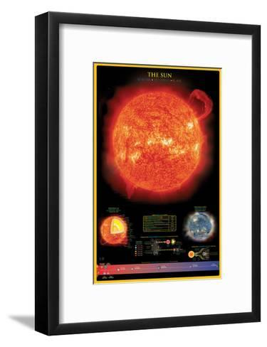 Sun--Framed Art Print