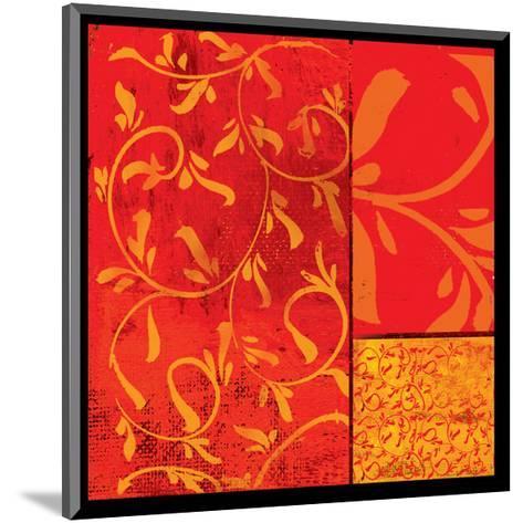 Florence Red Gold-Lillian Pasenar-Mounted Art Print