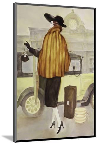 Taxi Lady-Graham Reynold-Mounted Art Print
