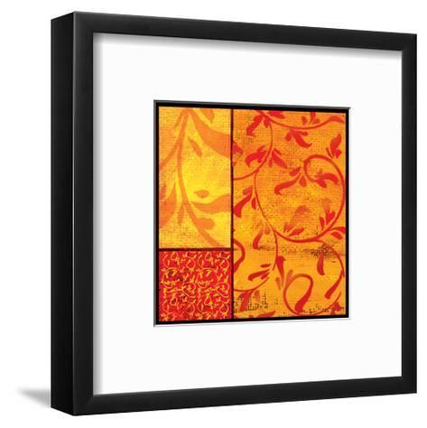 Florence Gold Cadmium-Lillian Pasenar-Framed Art Print