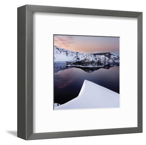 Crater Lake-Shane Settle-Framed Art Print