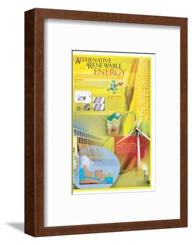 Alternative Renewable Energy--Framed Art Print
