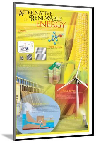 Alternative Renewable Energy--Mounted Art Print