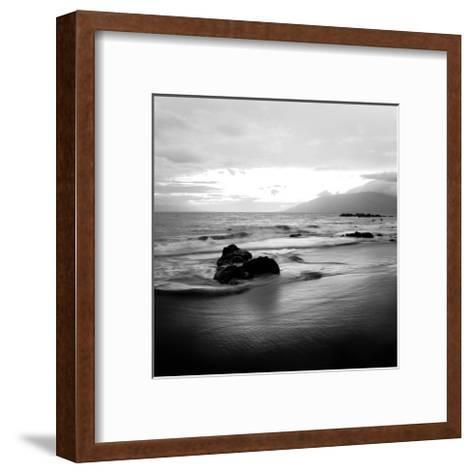 Coastal Rocks in Hawaii-Shane Settle-Framed Art Print