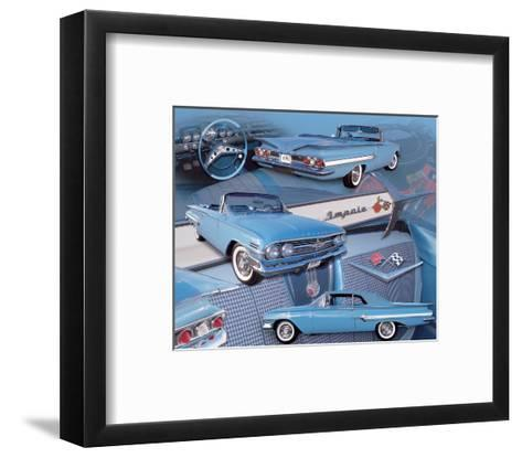 1960 Impala--Framed Art Print