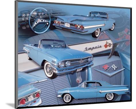 1960 Impala--Mounted Art Print