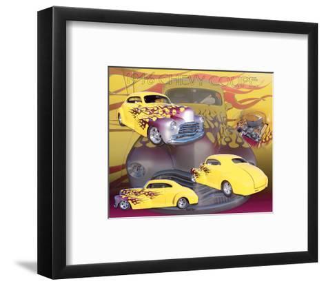 1946 Chevy--Framed Art Print
