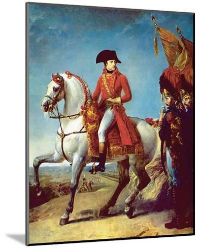 Napoleon after the Battle of Marengo--Mounted Art Print
