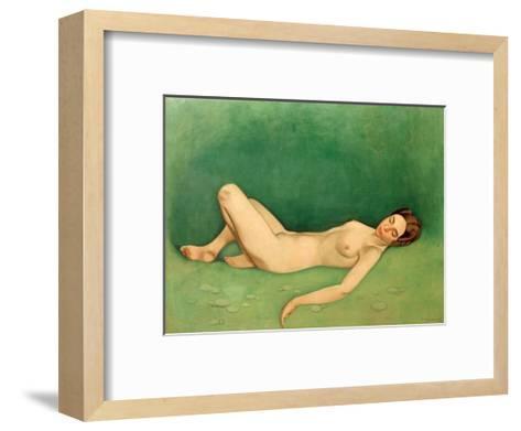 Sleeping Bather-F?lix Vallotton-Framed Art Print