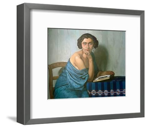Returned From The Sea-F?lix Vallotton-Framed Art Print