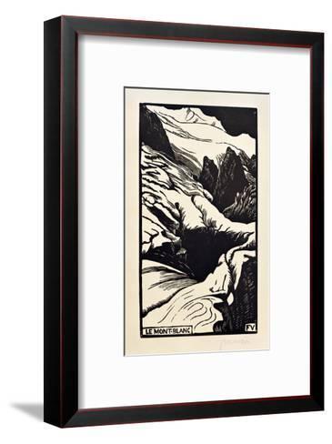 The Mont Blanc-F?lix Vallotton-Framed Art Print
