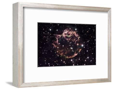 NASA - Supernova Remnant Cassiopeia A--Framed Art Print