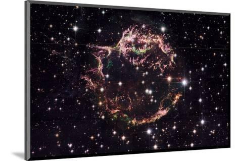 NASA - Supernova Remnant Cassiopeia A--Mounted Art Print