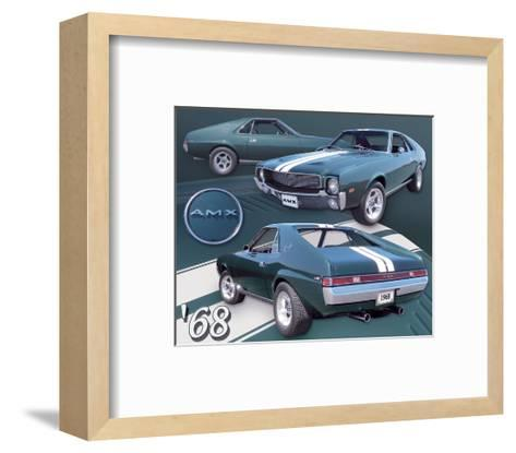 1968 AMX--Framed Art Print