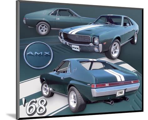1968 AMX--Mounted Art Print