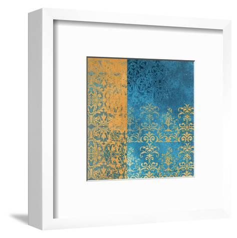 Powder Blue Lace II-Rachel Travis-Framed Art Print