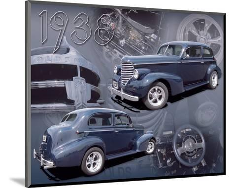 1938 Olds--Mounted Art Print