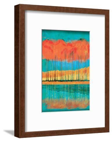 Autumn Pond-Toy Jones-Framed Art Print