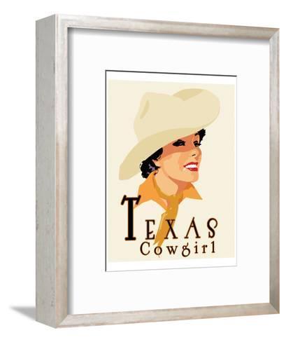Texas Cowgirl-Richard Weiss-Framed Art Print