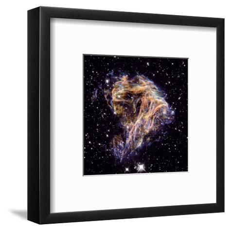 NASA - N 49 Celestial Fireworks--Framed Art Print