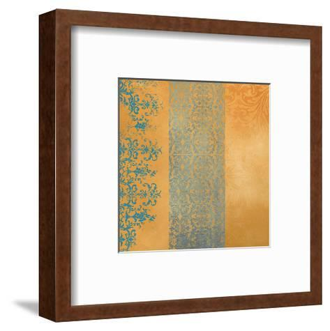 Powder Blue Lace IV-Rachel Travis-Framed Art Print